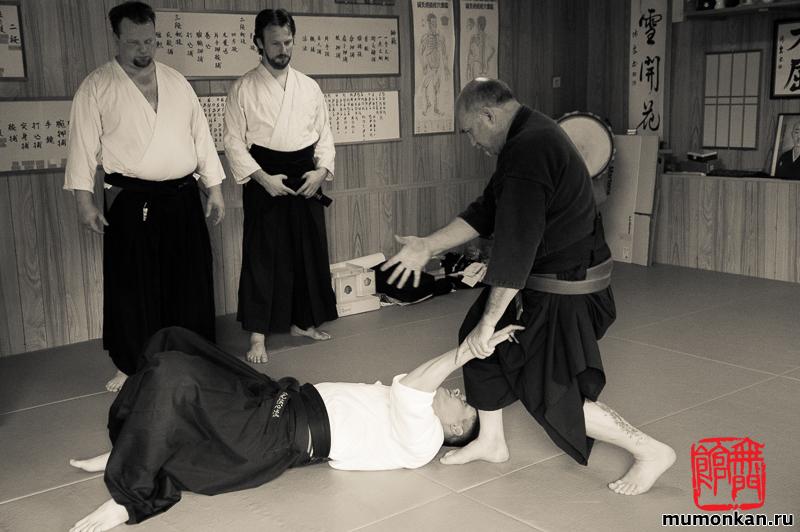 Сокэ Гарсиа объясняет контроль в технике тэкагами